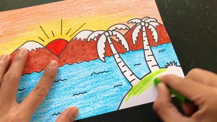Trong giấc ngủ bạn mơ thấy mình đang vẽ tranh là điềm báo cho thấy bạn nên thể hiện năng lực của mình nhiều hơn.